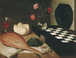Still Life with a Chess-Board
