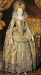 Portrait of Queen Elizabeth of Bohemia