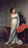 Portrait of Mrs White