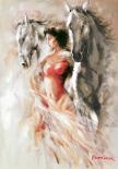 Ann with Horses III