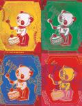 Four Pandas, 1983