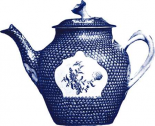 Manor Porcelain in Blue I