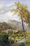 A View of Princes Street Gardens and The National Gallery