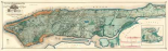 Sanitary and Topographical Map of the City and Island of New York, 1865