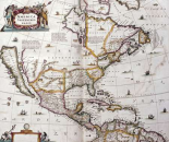 Map of North America, 1641