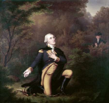 George Washington In Prayer at Valley Forge
