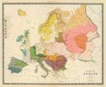 Ethnographic, Europe, 1856