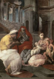 Holy Family With St. Elizabeth and John The Baptist