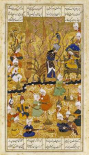Illustration To The Shahnameh. Persia, Shiraz