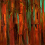 Sunset Bamboo I