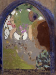 Womans Silhouette in a Window, 1912