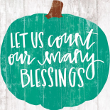 Our Many Blessings
