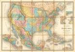Carte Generale Des Etats, 1865
