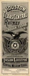 Cover: Houston and Texas Central Railway through Texas, 1885