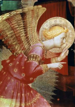 Angel of The Annunciation - Detail
