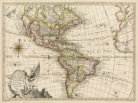 A New Map of America - 1769