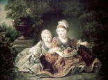 Duc De Berry and Count De Provence As Children