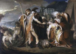 King Lear Weeping Over The Body of Cordelia