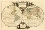 Mappemonde, 1752