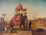 Elephant and Howdah