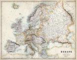 Pastel Map of Europe