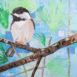 Chickadee Collage I