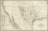 Map of Texas and the countries adjacent, 1844