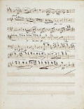 Manuscripts of The Quartet In a Minor Opus 132