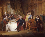 Shakespeare and His Friends at The Mermaid Tavern