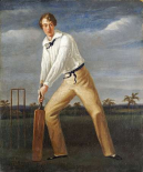 A Cricketer at The Crease