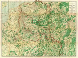 Hammonds Large Scale War Map of the Western Front, 1917