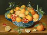 Still Life with Lemons - Oranges and a Pomegranate